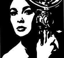 Elizabeth Taylor by Sassy Bombassi
