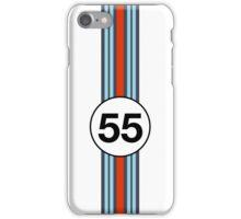 Martini Racing #55 iPhone Case/Skin
