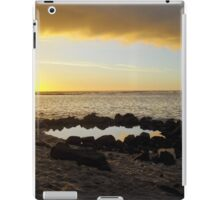 Portfolio: Sunset over Ke'ei beach and keiki pool. iPad Case/Skin