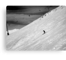 Summit Run Canvas Print
