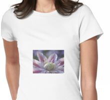 Exotic Clematis Womens Fitted T-Shirt