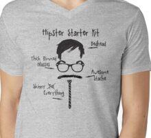 Hipster Starter Kit Mens V-Neck T-Shirt