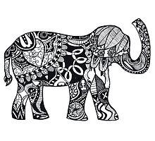 The Lucky Elephant by Amanda  Hack
