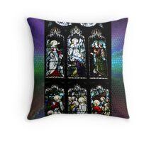 Window of St Giles Cathedral, Edinburgh, Scotland Throw Pillow