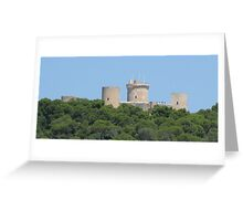 Hill Fort, Palma, Mallorca Greeting Card
