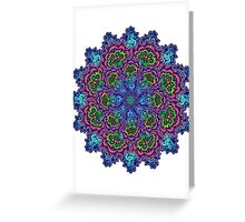 Bluemungus mandala Greeting Card