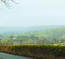 Foggy English Hills by bmosborn