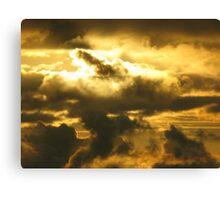 Irish Sea Sunset Canvas Print