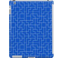 White Tetris Pattern iPad Case/Skin