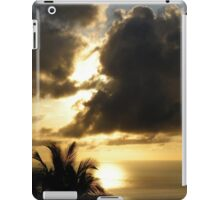 Portfolio: Sunset and clouds, Honaunau, Big Island iPad Case/Skin