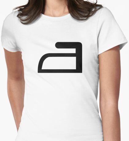 Iron Womens Fitted T-Shirt