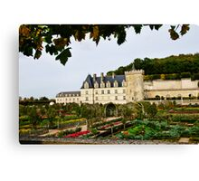 Villandry Castle - Loire Valley - France Canvas Print