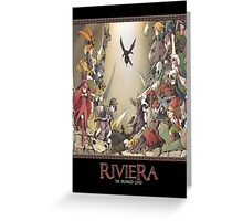Riviera The Promised Land Merc Greeting Card