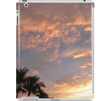 Portfolio: Sunset and glowing clouds, Koloko, Big Island iPad Case/Skin