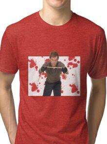Dexter Morgan Tri-blend T-Shirt