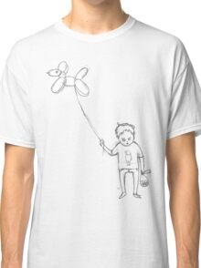 Dog balloon boy Classic T-Shirt