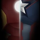 Civil War- Iron Man vs. Cap  by LondonBound