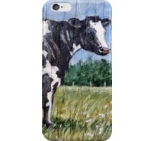 White and Black Cow iPhone Case/Skin