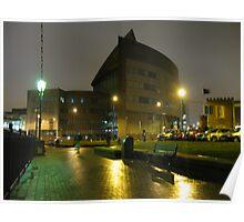 Cardiff Bay, Atradius Building Poster
