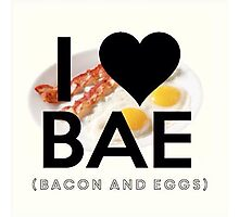 BAE (Bacon & Eggs) Photographic Print