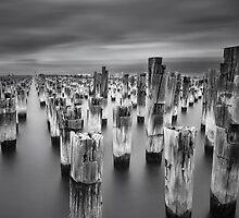 Princes Pier, Port Melbourne by Vicki Moritz