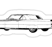 1964 Cadillac Coupe Sixty Two Series Sticker