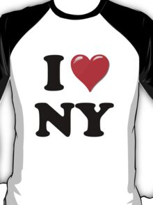 I Love New York State T-Shirt