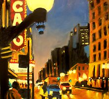 Twilight in Chicago - The Watcher by Robert Reeves