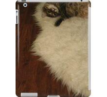fuzzy cat, fuzzy mat iPad Case/Skin