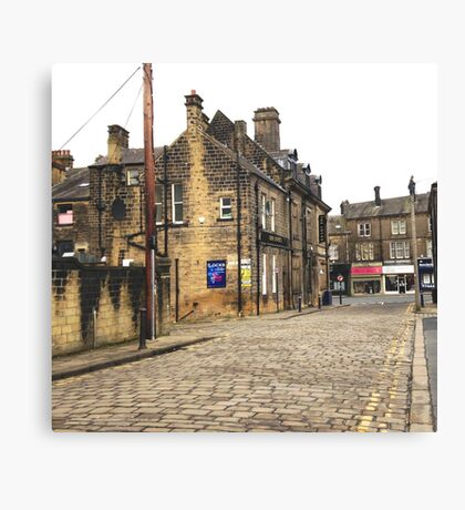 Bingley, UK Canvas Print