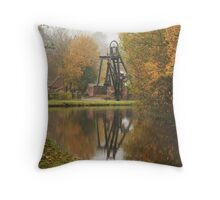 Nature will always return. Throw Pillow