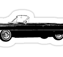 1964 Cadillac De Ville Series Convertible Sticker