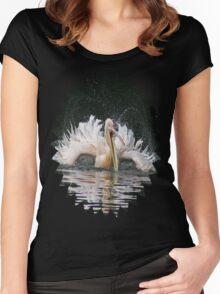 Pelican T Women's Fitted Scoop T-Shirt