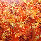 Autumn burst by Carole Russell