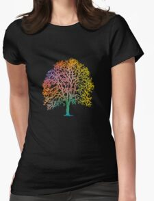 Color Abstract Art Painting T-Shirt