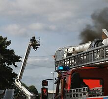 Fire fighting from a platform  by OurKev