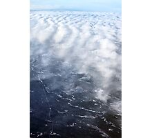 Cloud Over The Tundra, Manitoba. Photographic Print