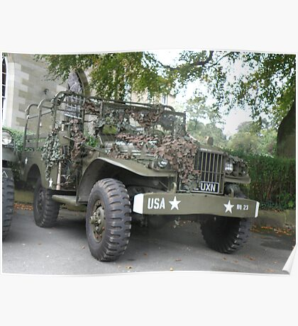 Dodge Weapons Carrier Poster