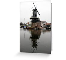 Windmill, Haarlem Greeting Card