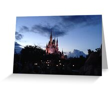 Castle at Dusk Greeting Card
