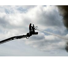 Platform fire fighter Photographic Print