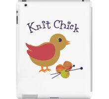 Knit Chick iPad Case/Skin