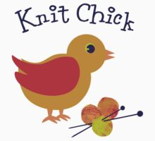 Knit Chick Baby Tee