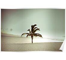 November Beach Poster