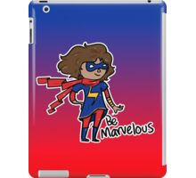 Kamala Khan - Be Marvelous iPad Case/Skin