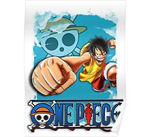One Piece - Luffy Poster