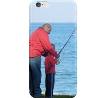 Fishing Lesson iPhone Case/Skin