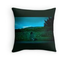 Hole to the Other Side Throw Pillow