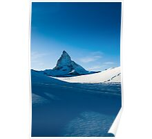 blue matterhorn Poster