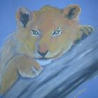 Lion Cub by Nicole Gibson
